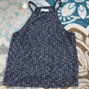 Abercrombie and Fitch gray tank top